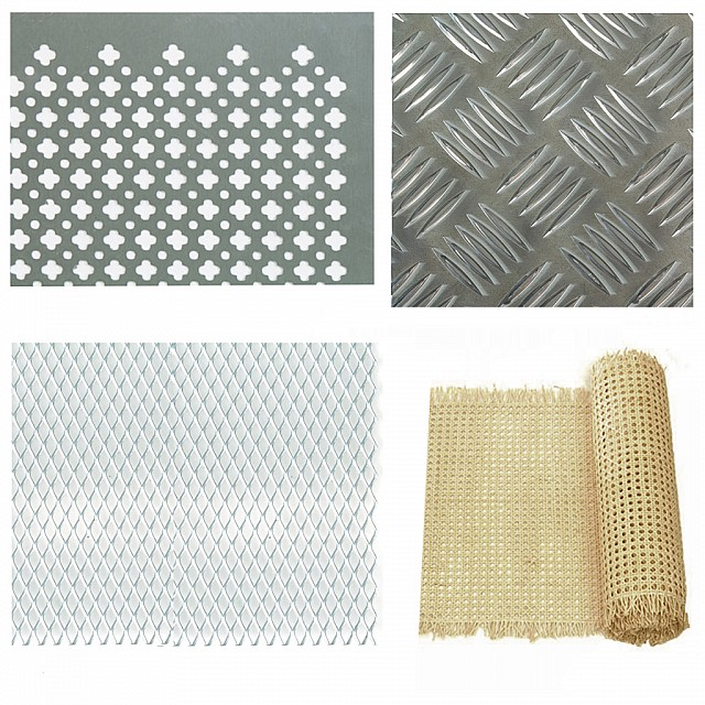 Metal and Wooden Sheets